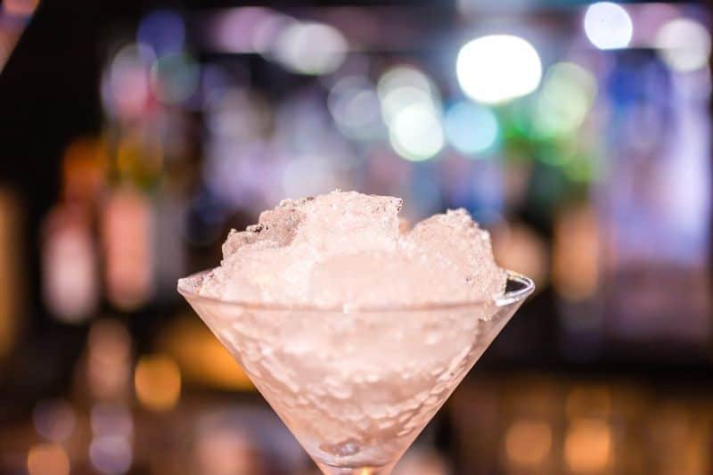 At what temperature do alcoholic drinks freeze cover image