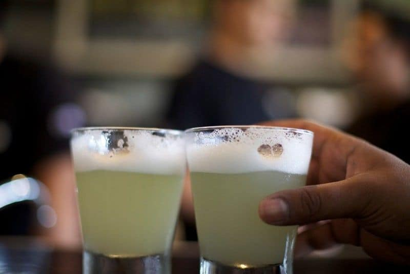 Pisco is also a wine distillate and the national drink of chile and peru