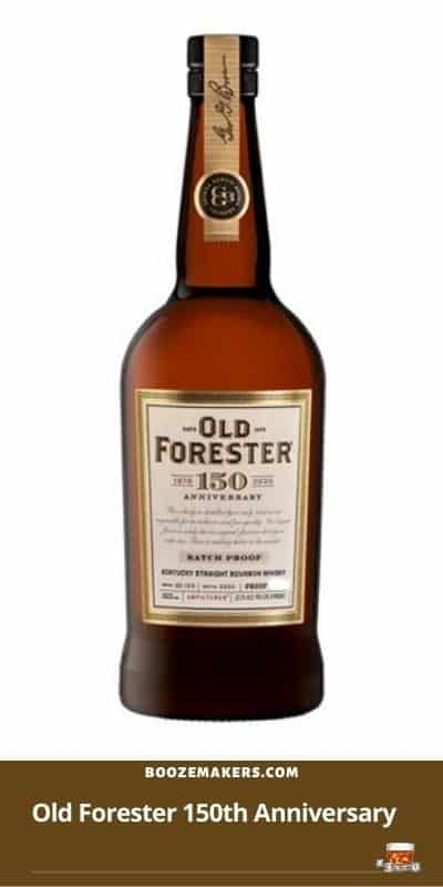 Old Forester 150th Anniversary